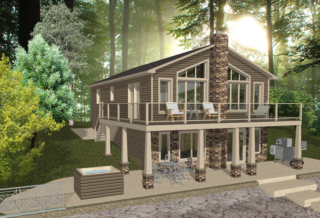 Maison pr fabriqu abitibi ventana blog for Mini maison usinee