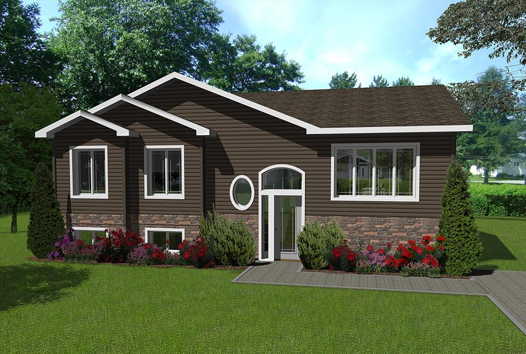 Maison pr fabriqu e mod le papineau maisons champoux for Planifier votre maison