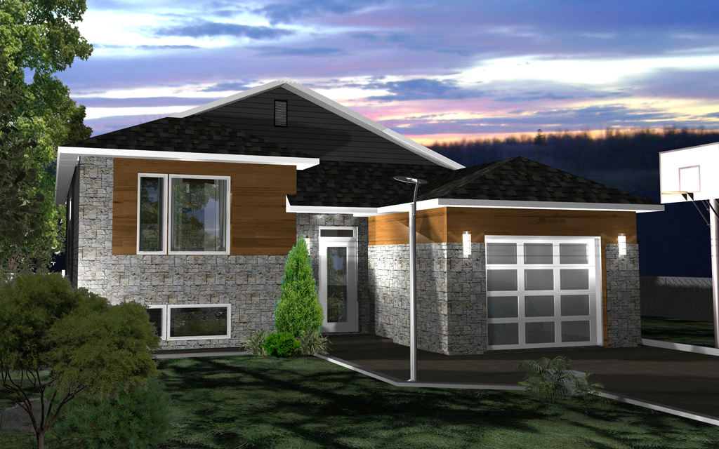 Maison modulaire labrador maisons champoux for Planifier votre propre maison