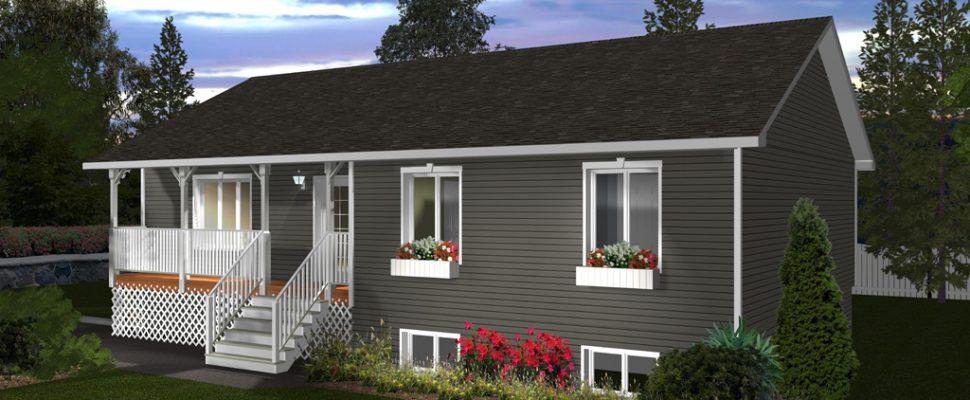 Maison modulaire mod le algonquin maisons champoux - Plan de maison modulaire ...