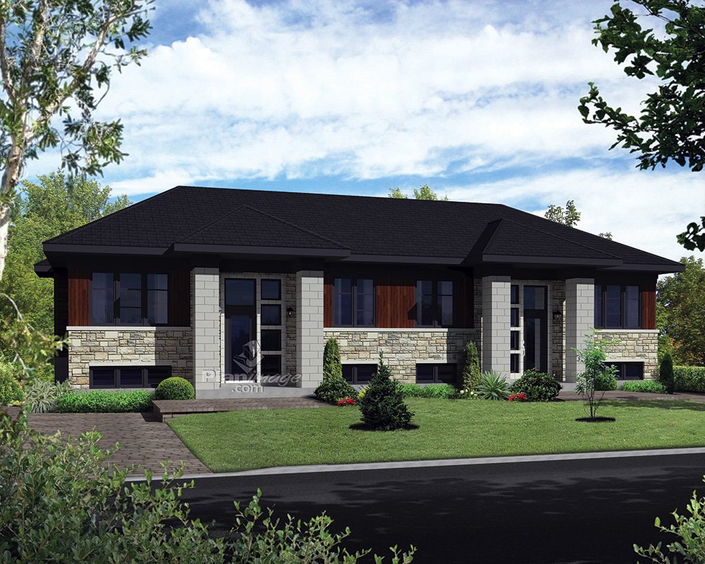 duplex usin mod le matapedia maisons champoux. Black Bedroom Furniture Sets. Home Design Ideas